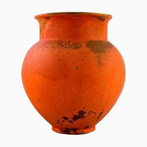 Danish Vase in Glazed Stoneware by Svend Hammershøi for Kähler, 1940s