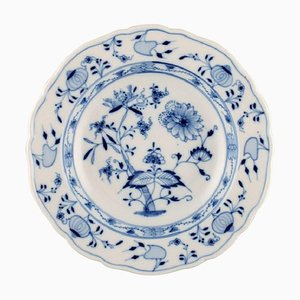 Blue Onion Pattern, Large Soup Plate by Stadt Meissen, Set of 10