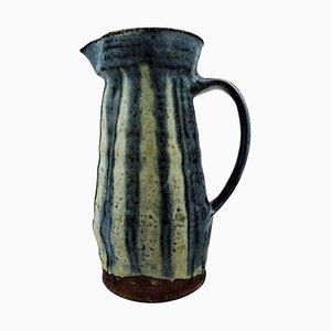 Dänischer Krug aus Keramik, Mitte des 20. Jahrhunderts