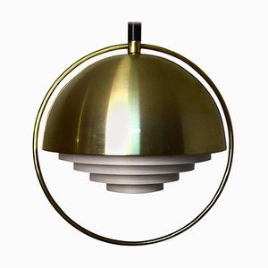 Scandinavian Brass Chandelier, 20th Century