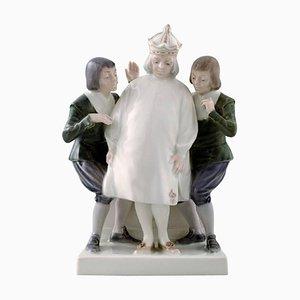 Emperor's New Clothes No. 1288 Porcelain Figure from Royal Copenhagen, 1969