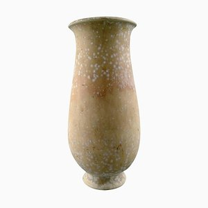 Vintage Eggshell Glaze Vase in Ceramics by Gunnar Nylund for Rörstrand
