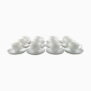 Lotus Coffee Service from Rosenthal, 20th Century, Set of 24