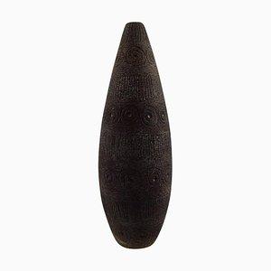Swedish Ceramic Vase by Elsi Bourelius for Jie Gantofta, 1960s