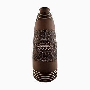Swedish Modern Floor Vase by Ulla Winblad for Alingsas Ceramics, 20th Century