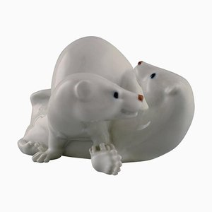 Weasels Figurine from Royal Copenhagen, 1962