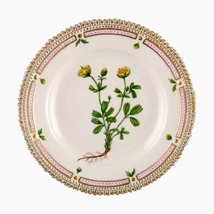 20/3551 Flora Danica Dessert Plate from Royal Copenhagen, 1960s