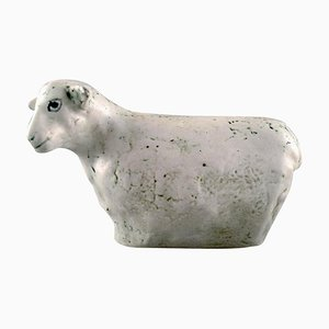 Sheep in Ceramic by Henrik Allert for Pentik, Late 20th Century