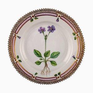 Flora Danica Dessert Plate from Royal Copenhagen, 20th Century