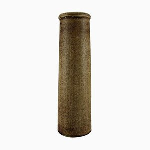 Large Cylindrical Vase in Glazed Ceramic by Carl Harry Stålhane for Rörstrand