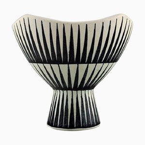 Vase in Glazed Stoneware by Liisa Hallamaa Larsen for Arabia, 1960s