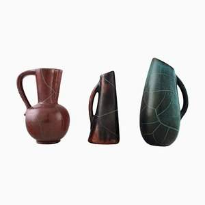 Ceramic Jugs or Vases by Richard Uhlemeyer, 1940s, Set of 3