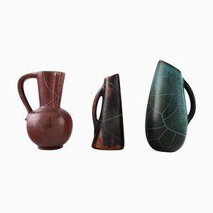 Keramik Krüge oder Vasen von Richard Uhlemeyer, 1940er, 3er Set