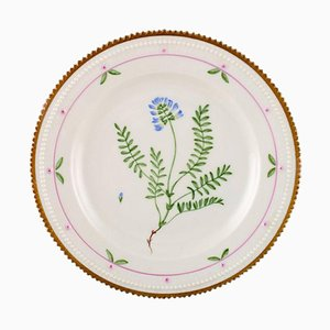 Flora Danica Lunch Plate from Royal Copenhagen, 20th Century