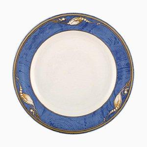 Magnolia Dinner Plates from Royal Copenhagen, 1990s, Set of 10