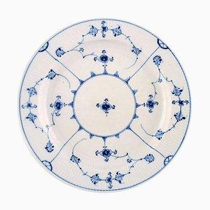 Round Dish from Royal Copenhagen, Early 19th Century