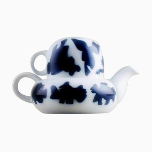 All-in-One Teapot Design by Steen Lykke Madsen for Bing & Grondahl, 20th Century