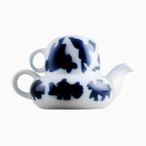 All-in-One Teekannen Design von Steen Lykke Madsen für Bing & Grondahl, 20. Jahrhundert