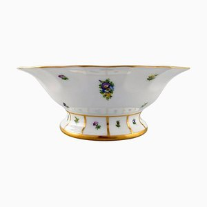 Hand-Painted Porcelain Henriette Centrepiece No. 444/8530 from Royal Copenhagen, 20th Century