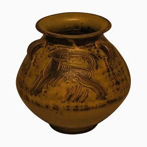 Ceramic Vase by Jais Nielsen for Royal Copenhagen, 20th Century