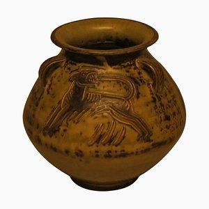 Keramik Vase von Jais Nielsen für Royal Copenhagen, 20. Jahrhundert