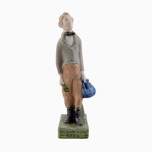 H.C. Andersen Figurine from Royal Copenhagen, 1970s
