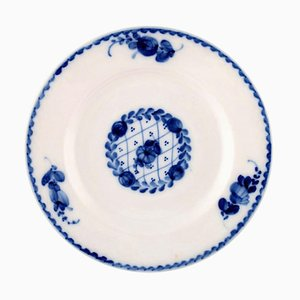 Rococo Cake Plates from Royal Copenhagen, 20th Century, Set of 12