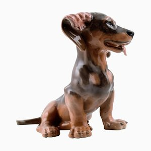 Number 0856 Dachshund by Lauritz Jensen from Royal Copenhagen, 1960s