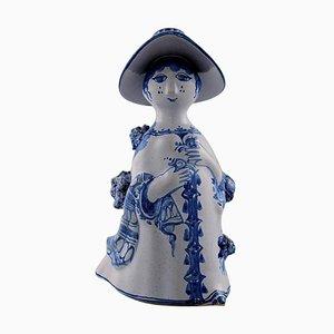 Model M14 Aunt Ceramic Figure by Bjorn Wiinblad, 2001