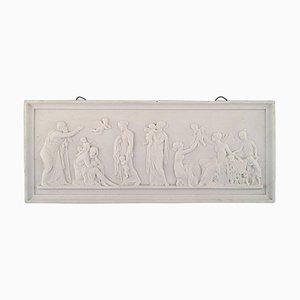 Antike Love Ages # 115 'Biskuitplatte von Royal Copenhagen nach Thorvaldsen