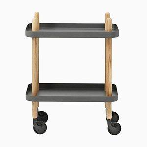 Dark Grey Block Table