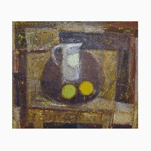 Still Life with Jug and Fruit by Karsten Winther, 1970s