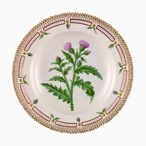 Flora Danica Deep Plate Model Number 20/3546 from Royal Copenhagen, 1940s