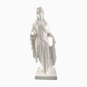 Large Antique Female Figure by Thorvaldsen for Royal Copenhagen