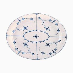 Große Ovale Schale von Royal Copenhagen, frühes 19. Jh