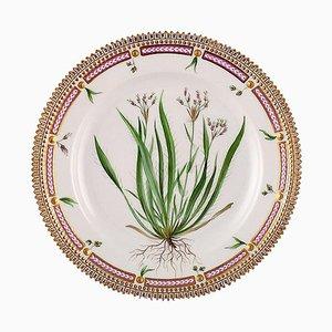 Assiette à Lunch Flora Danica Numéro 20/3550 de Royal Copenhagen, 20ème Siècle