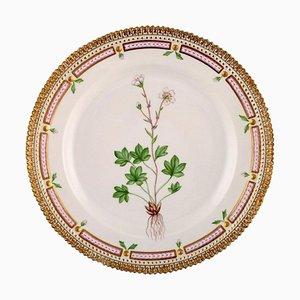 Flora Danica Lunch Plate Number 20/3550 from Royal Copenhagen, 1958