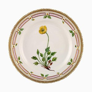 Flora Danica Lunch Teller Nummer 20/3550 von Royal Copenhagen, 1960er