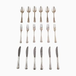 Danish Silver Cutlery from Cohr, 20th Century, Set of 18