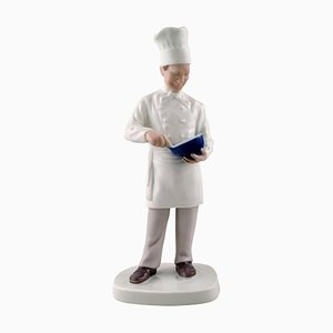 Number 2429 Chef Sculpture from Bing & Grondahl, 20th Century