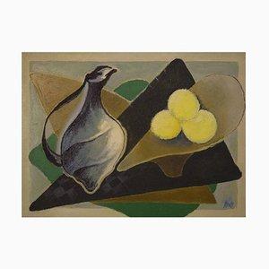 Still Life Öl auf Leinwand von Orla Muff, 20. Jahrhundert