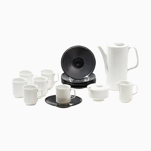 Variation Coffee Set by Tapio Wirkkala for Rosenthal, 1970s, Set of 15