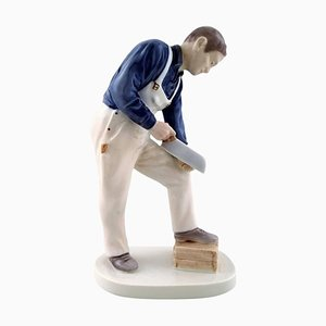 Figure Craftsman 2434 Carpenter from Bing & Grondahl, 20th Century