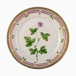 Flora Danica Lunch Plate Number 20/3550 from Royal Copenhagen, 1970s