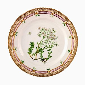 Flora Danica Lunch Plate Number 20/3550 from Royal Copenhagen, 20th Century