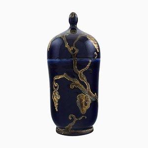 Porcelain Lidded Jar by Karl Lindstrom & Nils Emil Lundstrom for Rörstrand, 1920s
