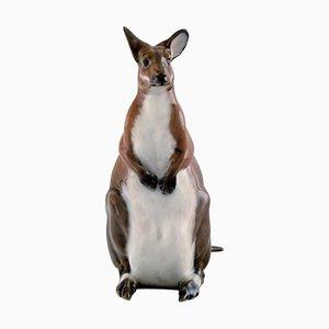 Number 5154 Kangaroo by Jeanne Grut for Royal Copenhagen