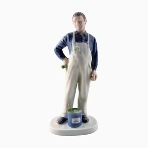 2431 Craftsman Painter from Bing & Grondahl, 20th Century