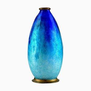 Art Nouveau Bronze Vase by Alexandre Marty for Limoges, 1910
