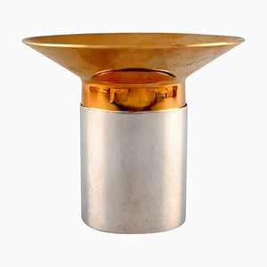 Candleholder for Tealights in Sterling Silver Number 1344 from Georg Jensen, 20th Century
